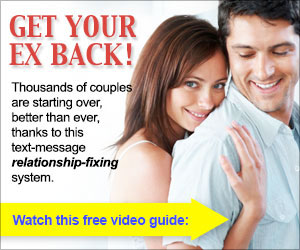 Text Your Ex Back - Relationship Fixing System