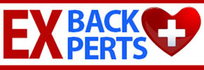 Ex Back Experts logo for sidebar